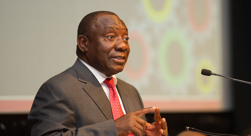 Cyril Ramaphosa: State captured SA in dire need of ethical renewal