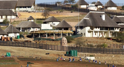 Treasury calculations: Zuma must pay 3.6% of Nkandla upgrades (R7.8m of R216m)