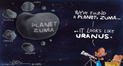 "Quotes of the week: Parliamentary Star Wars – ""Planet Zuma"""
