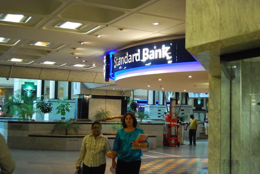 Standard Bank headquarters in Johannesburg.