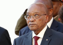 File photo: South Africa's President Jacob Zuma. REUTERS/Mies Hutchings