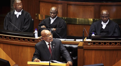 Silke: Zuma's sombre SONA 'prelude to budget'. Hopes pinned on Gordhan.