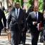 File photo: Deputy Finance Minister Mcebisi Jonas walks alongside former Finance Minister Nhlanhla Nene at the 2015 Budget Address.