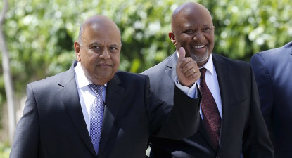 """Not recalled, asked to come back home"" – Gordhan, Jonas return on Zuma's orders…"