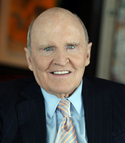 Former General Electric (GE) chairman and CEO Jack Welch.