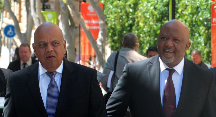 Jonas turned down Zupta FinMin offer; Van Rooyen was backup choice – report