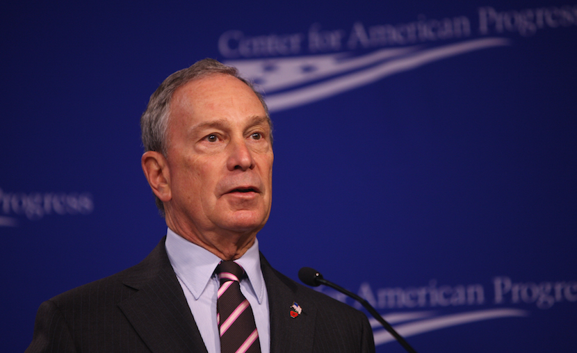 Michael Bloomberg has withdrawn from the US Presidential race. Photo By: Ralph Alswang