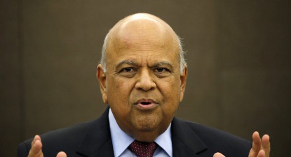 Gordhan's paradox: Says enjoys cabinet's support, but may still be arrested