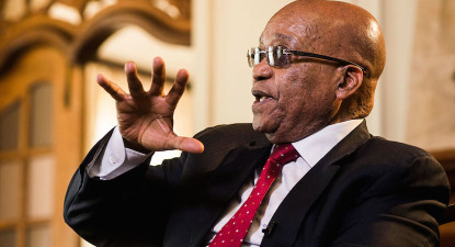 Is the Lion eyeing its fireproof Nkandla den yet? Cosatu bans Zuma