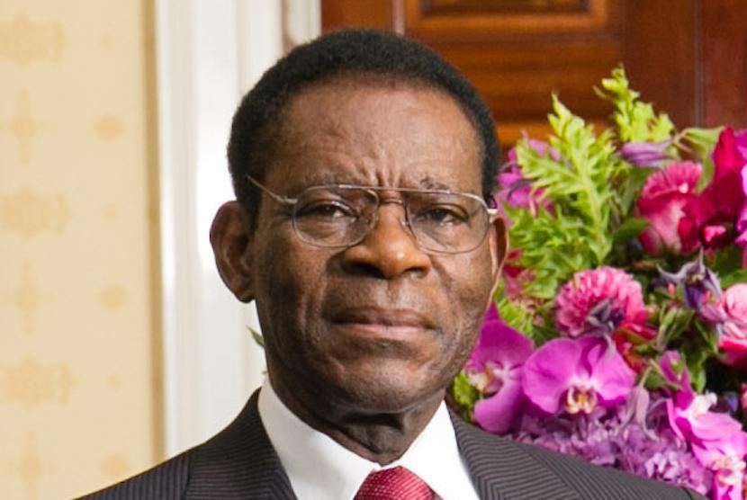 Equatorial Guinea President Teodoro Obiang
