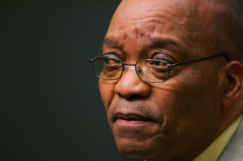 South African President Jacob Zuma. File photo. REUTERS/Mike Hutchings