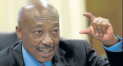 Feeling the heat: SARS Gupta man Tom Moyane shoots the messenger