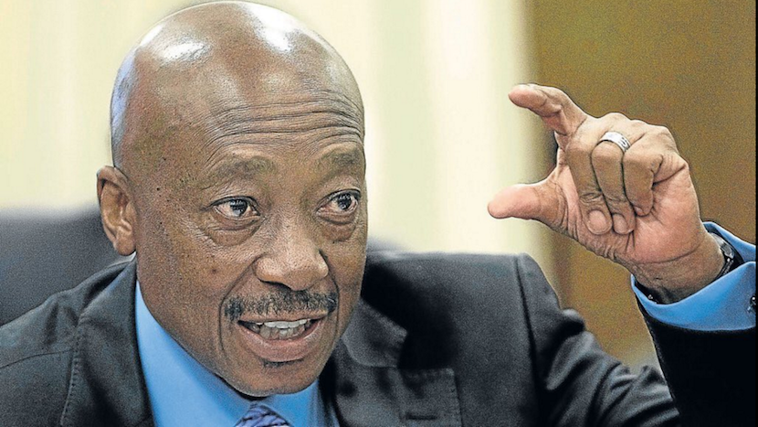 SA Revenue Service commissioner Tom Moyane. Photo courtesy of Twitter