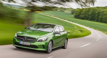 Mercedes A200d gets a face-lift, but can it keep up?