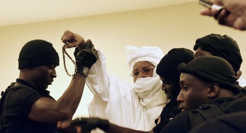 After 16 year struggle Former Chad president gets life behind bars