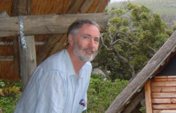 John Clarke at Mtentu Hutted Camp, Wild Coast October 2006