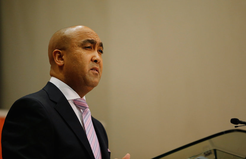 National Director of Public Prosecutions Shaun Abrahams speaks during a media briefing in Pretoria, South Africa, May 23, 2016. REUTERS/Siphiwe Sibeko