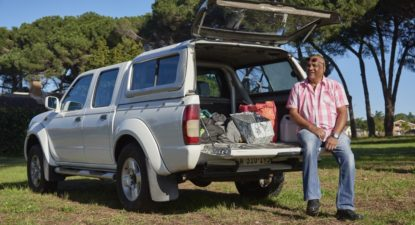 1.5 million kilometres in a Nissan Hardbody