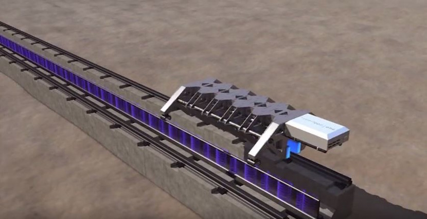 The Sandshark test sled: speedy, if lacking in seats. Image: Hyperloop One