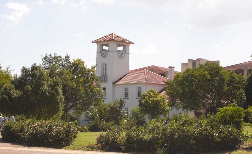 The old building at the Fort Hare University where both President's Jacob Zuma and Robert Mugabe attended the centenary celebrations.