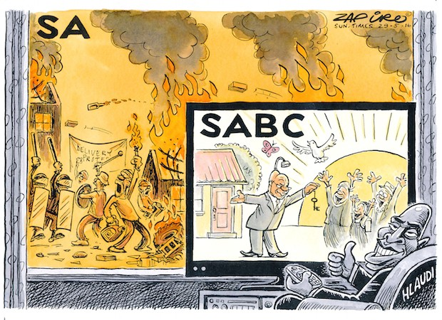 Once again, Zapiro's pics tell the story better than 1000 words. More of his magic on Zapiro.com