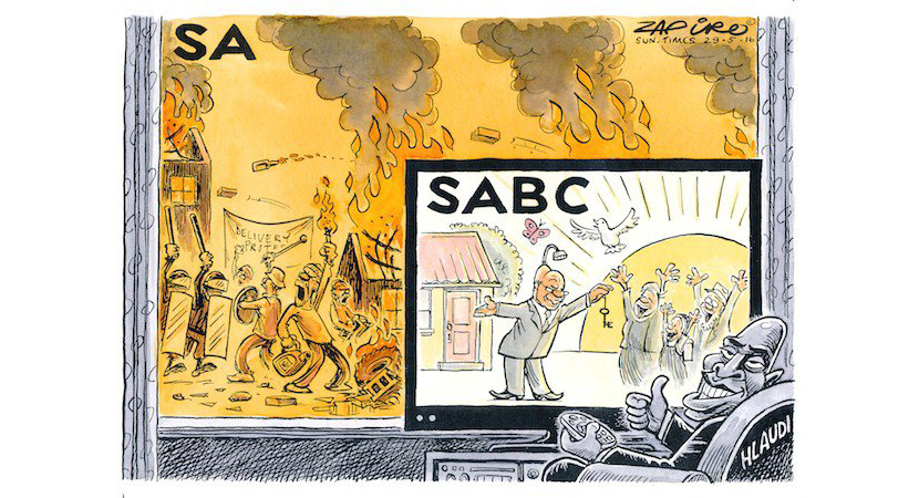 Journalist victimisation nothing less than ring fencing the SABC's feeding trough