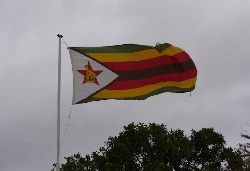 Zimbabwe Flag May 2016