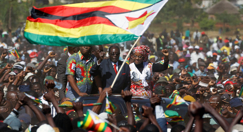 SA's future? The million Zimbabweans that marched against themselves.
