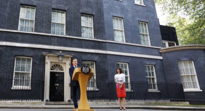 Watch: David Cameron's resignation speech, taking honourable route
