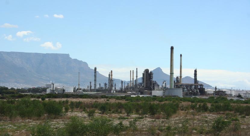 Chevron oi refinery
