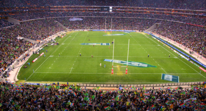 And the greatest stadium for live rugby in South Africa is…
