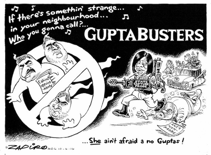 Once again SA's leading cartoonist nails it. For more Zapiro magic, click here.