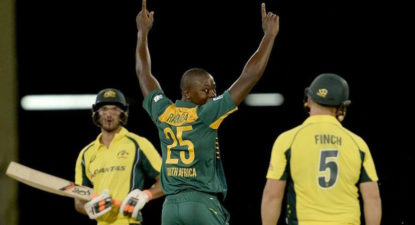 Young (black) bowlers shine as Proteas record crushing win over Aussies