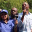 Democratic Alliance leader Mmusi Maimane (L) and Cape Town mayor Patricia De Lille (R).