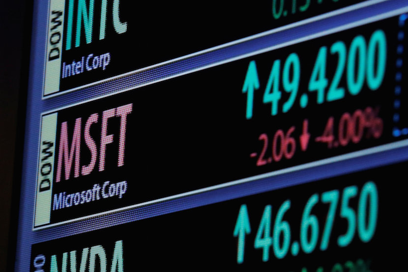 The Ticker Symbol And Trading Information For Microsoft Corp Is