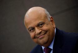 South African Finance Minister Pravin Gordhan. REUTERS/Siphiwe Sibeko/File photo