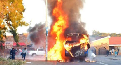 Mailbox: Busses will burn – pure Democracy is only solution to corruption.