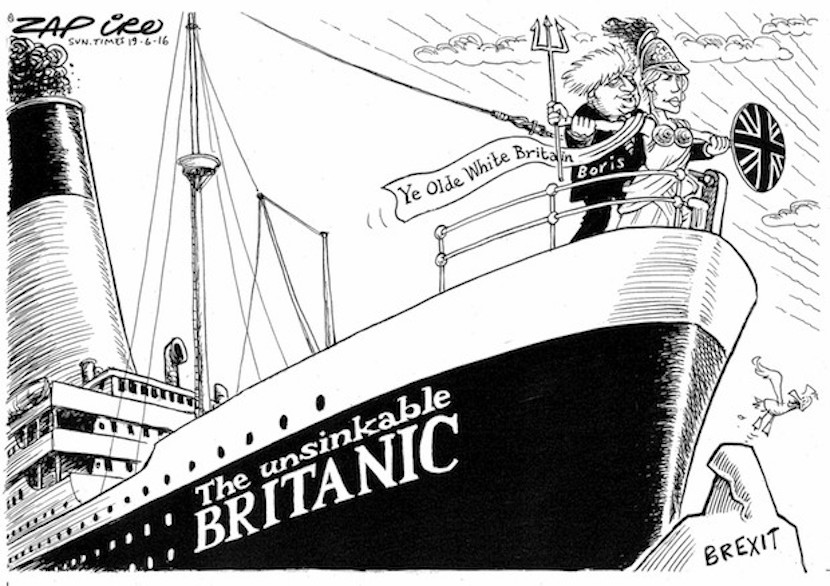 Brits head to the polls today to decide on the whether the fate of the country lies within, or outside, the European Union. More magic available at www.zapiro.com.