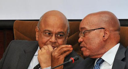 Zuma thunderbolt ahead of reshuffle – Gordhan, Jonas ordered home from UK.