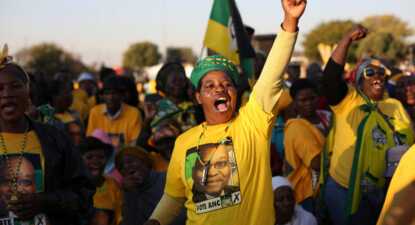 Riaz Gardee: Political campaigning – did the ANC 'solely' liberate SA?