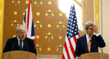 "Boris bombs as US journos want apologies for ""lies"", not solutions on Syria"