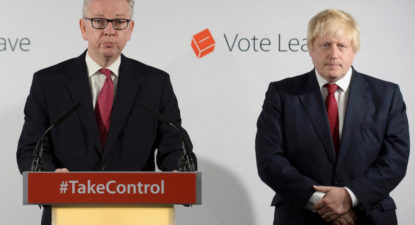 Political assassination UK-style: Blow-by-blow report how Gove nailed Boris