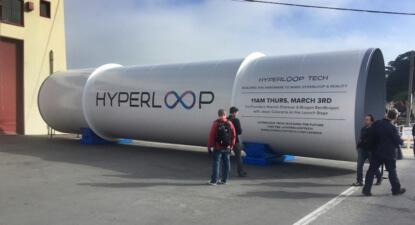 Elon Musk's Hyperloop dream gets another $50m backing, hires Uber's CFO
