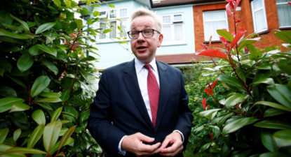 Westminster's House Of Cards reality show starring Gove and columnist wife