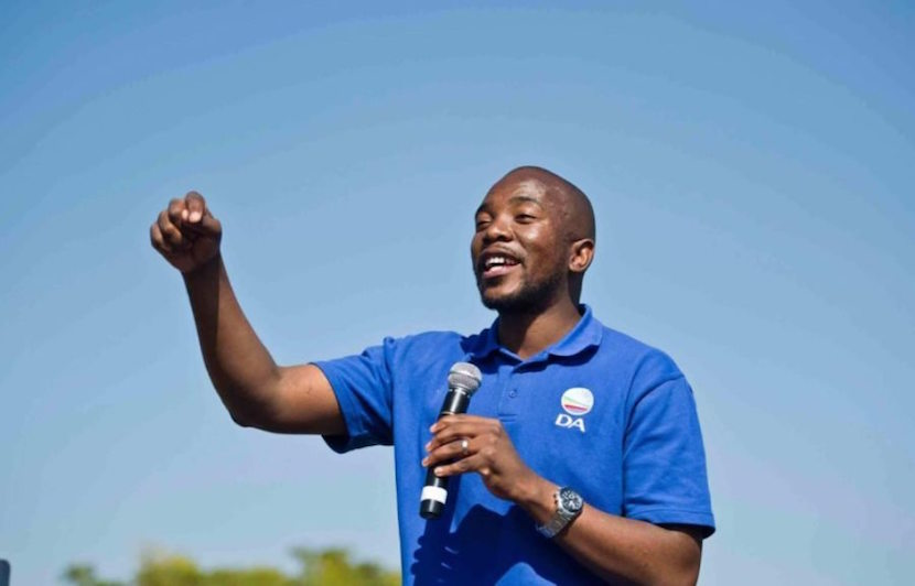 Democratic Alliance leader Mmusi Maimane. Pic: Twitter @BuzzSouthAfrica