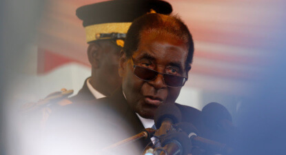 Mugabe's 'frailty' opens succession door as war vets turn allegiances. Grace or Emmerson.