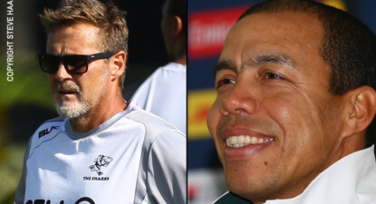 Du Preez and Loubscher in charge of the Sharks Currie Cup squad