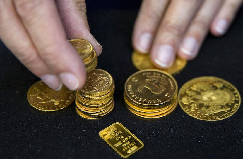 gold, gold coins, precious metal