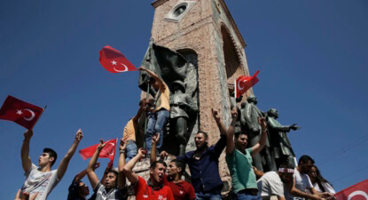 Bloomberg View: Turkish coup ignored social media, so always doomed to fail