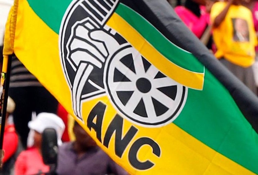ANC flag. Picture courtesy of Twitter